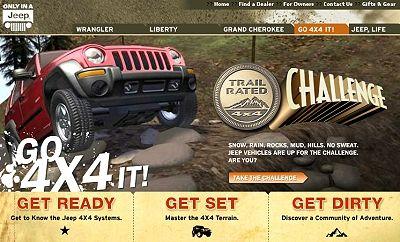 线上也能越野 快到jeep go 4x4 it高清图片