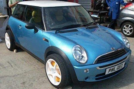 不过这辆mini虽然一样在英国诞生,但跟bmw ag可一点关系都高清图片