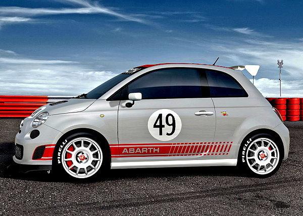根据最新外电消息指出  当然,fiat 500这款小车也跟mini一样高清图片