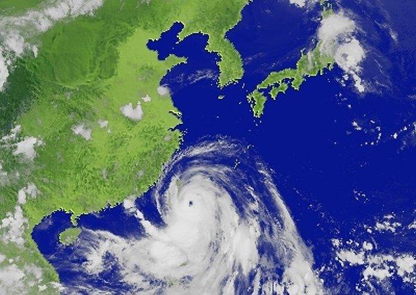 卫星云图撷取自中央气象局全球资讯网.-台湾中央气象局 中央气象台 图片
