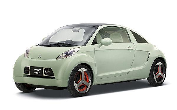 日本民众心目中的节能车,就是电动车 高清图片