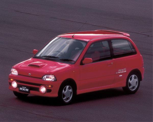 subaru於1992年3月推出后继车款vivio,并以多达20种组合和等高清图片