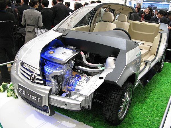 比prius还便宜 长安杰勋油电混合动力轿旅车今年要卖一千辆 高清图片
