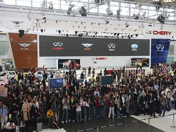 2009上海车展报导 奇瑞市售新车小至大qqme 风云2 东方之高清图片