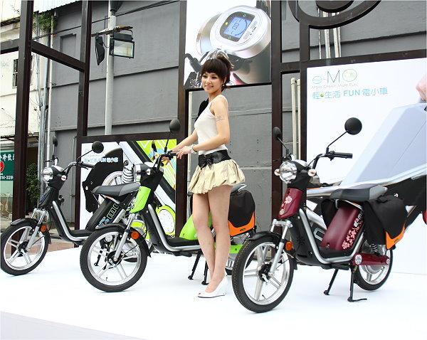 绿能新骑趣 节能电动车发展,政府单位别扯后腿高清图片