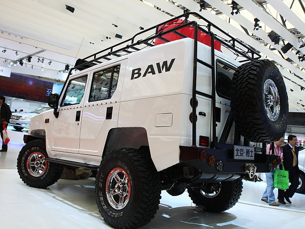 汽车 中国悍马 不 是2009年式北汽勇士民用版正式发售