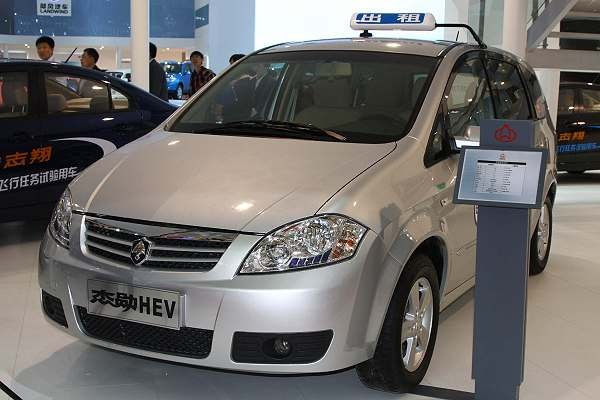 中国首辆油电轿旅车 长安混合动力杰勋hev正式发售高清图片