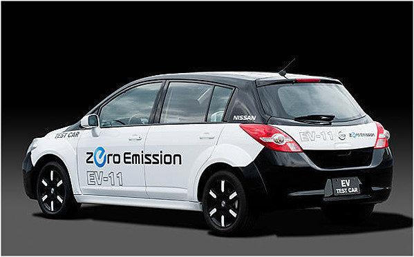 nissan全新量产电动车底盘大公开