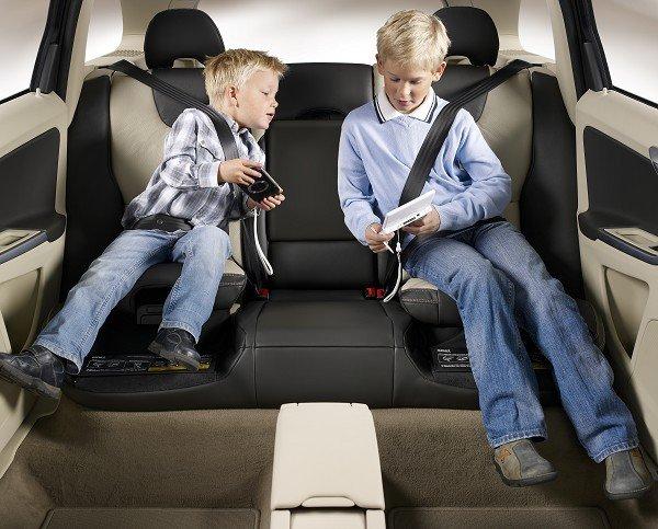 volvo儿童座椅添安全