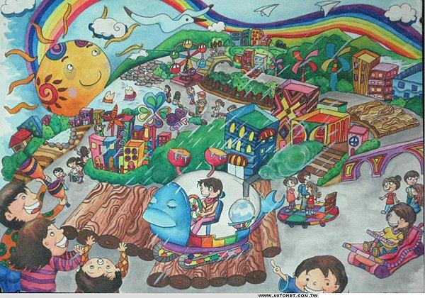 环保图画儿童绘画