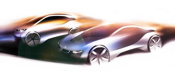 而目前bmw集团旗下的三大汽车品牌,都已经针对电动车时代高清图片