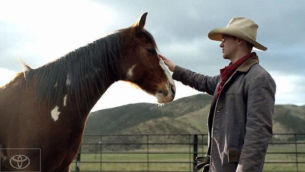 而近日美国释出一部15秒的广告影片,还找来可爱的马儿来当其中一个