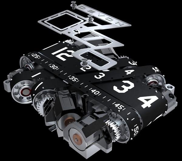 名符其实的 里程碑 以汽车里程表概念打造的DEVON Tread 1腕表高清图片