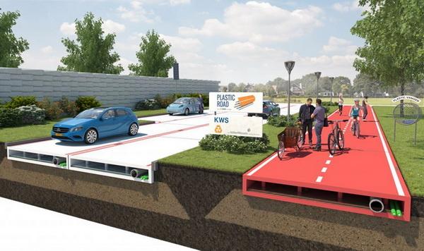 修路工人即將失業?荷蘭VolkerWessels發表更環保耐用的塑膠道路技術