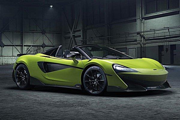 以毒蜘蛛为灵感,McLaren推出限量敞篷超跑600LT Spider Segestria Borealis by MO